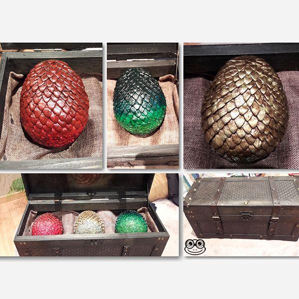 huevos de dragon friki frog proyectos bonitos