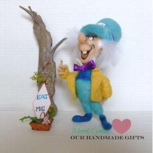 sombrerero loco de our handmade gifts