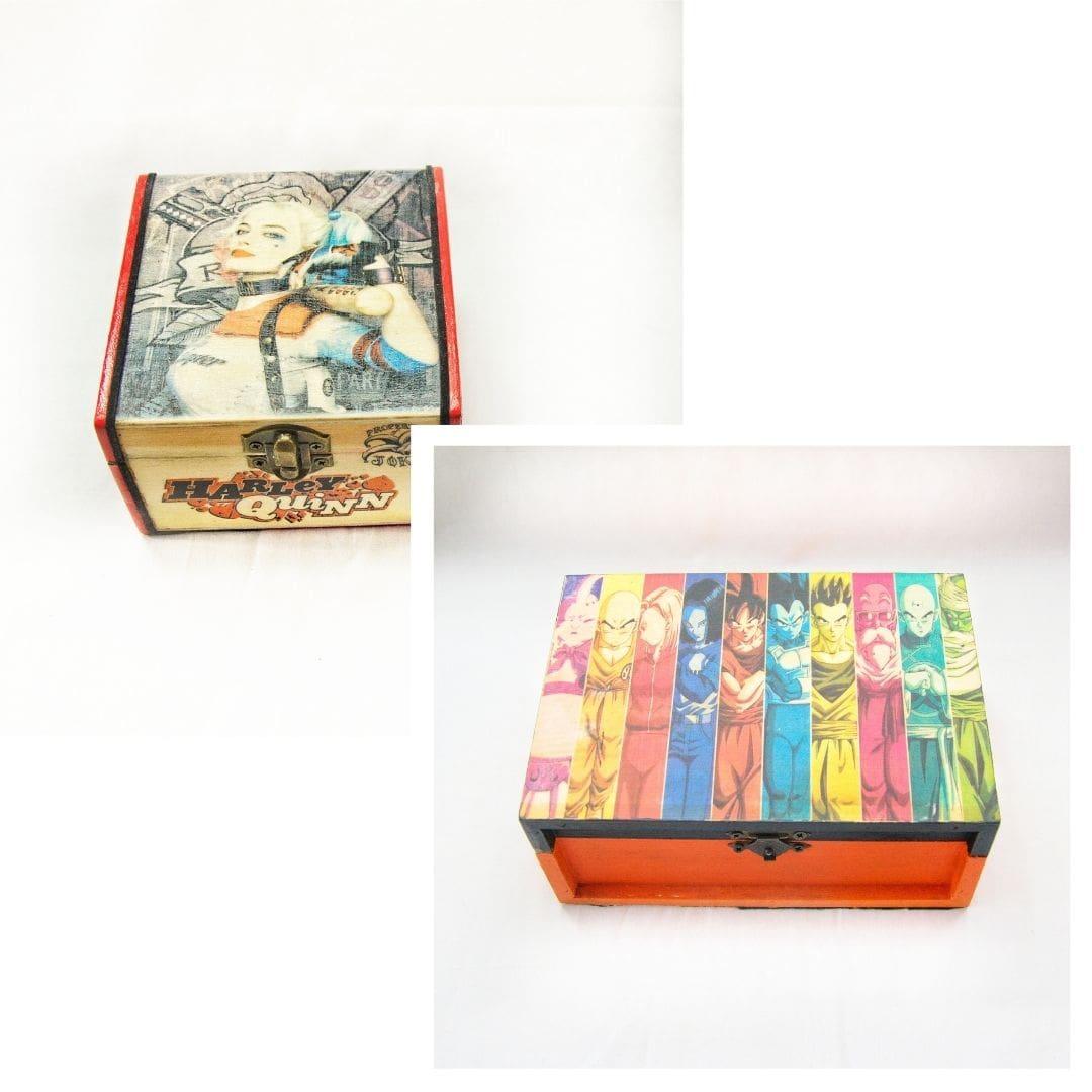 Market Proyectos Bonitos Friki Frog Caja Personalizada-min