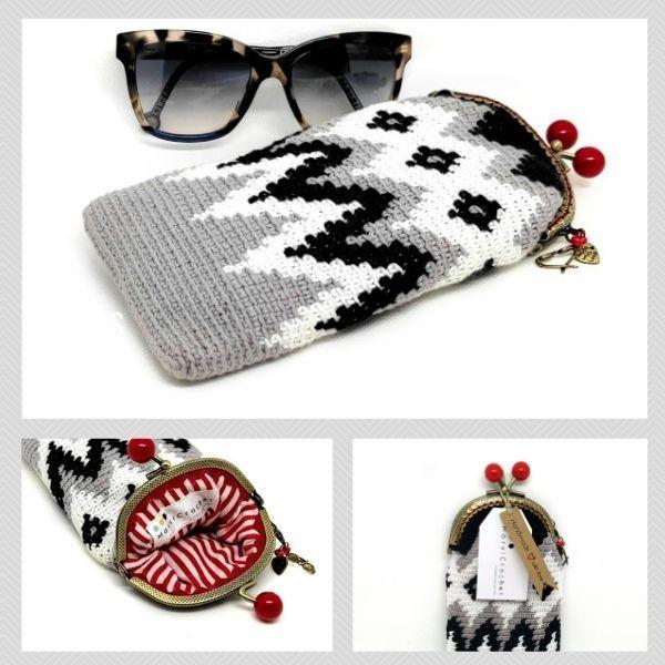 Market Proyectos Bonitos_Marvicrochet Funda de gafas