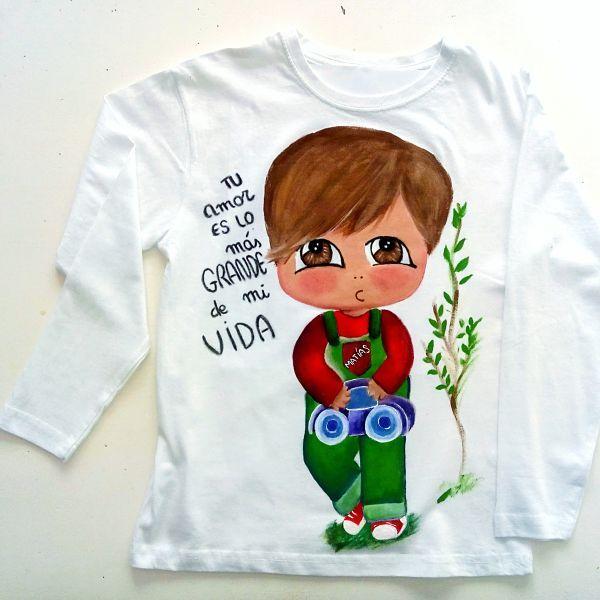market proyectos bonitos camiseta niño freixxa