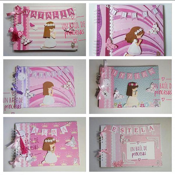 Libros de firmas niña Un baúl de princesas