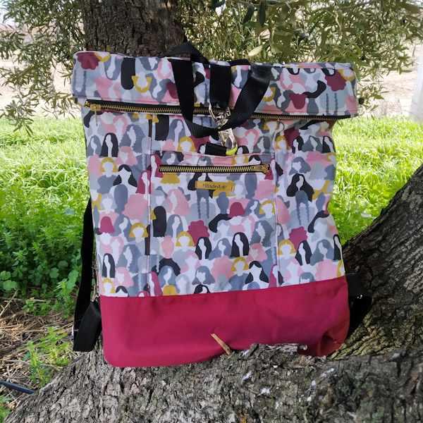 La Costurera Novata mochilas en Proyectos Bonitos
