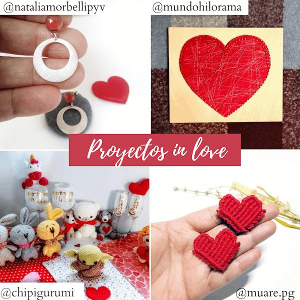 San Valentin regalos hechos a mano