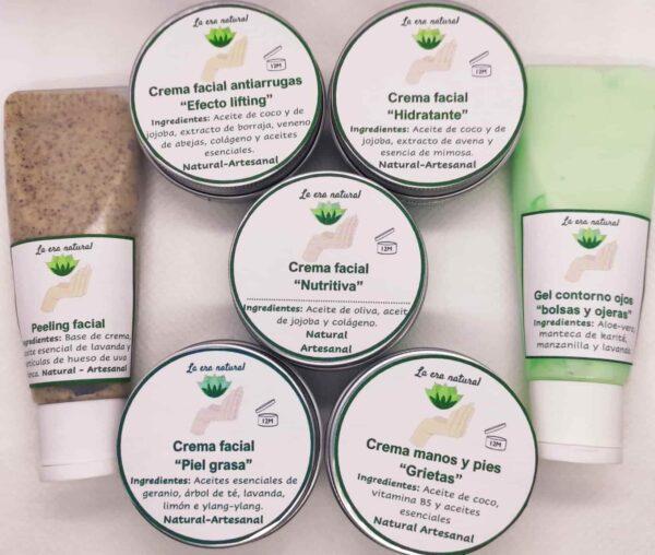 Cremas y cosmetica La era Natural Proyectos Bonitos