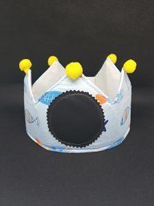 corona cumpleaños infantil les meves creacions