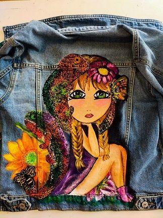 freixxa ropa pintada a mano proyectos bonitos